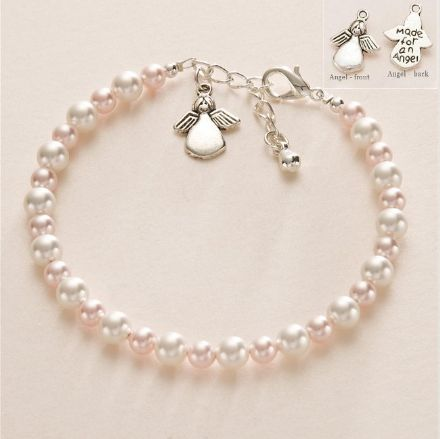 Made for an Angel Pearl Bracelet